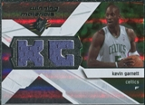 2008/09 Upper Deck SPx Winning Materials #WMIKG Kevin Garnett