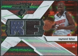 2008/09 Upper Deck SPx Winning Materials #WMIRF Raymond Felton