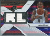 2008/09 Upper Deck SPx Winning Materials #WMIRL Rashard Lewis
