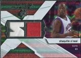 2008/09 Upper Deck SPx Winning Materials #WMISO Shaquille O'Neal