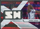 2008/09 Upper Deck SPx Winning Materials #WMISW Shelden Williams