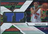 2008/09 Upper Deck SPx Winning Materials #WMITP Tayshaun Prince