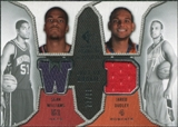 2007/08 Upper Deck SP Rookie Threads Dual Parallel #DW Sean Williams Jared Dudley /99