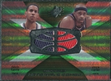 2008/09 Upper Deck SPx Winning Materials Combos #WMCCH Devin Harris Vince Carter