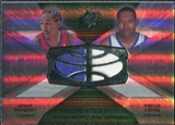 2008/09 Upper Deck SPx Winning Materials Combos #WMCCL Shaun Livingston Marcus Camby