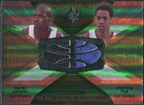 2008/09 Upper Deck SPx Winning Materials Combos #WMCFW Martell Webster Channing Frye
