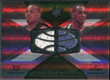 2008/09 Upper Deck SPx Winning Materials Combos #WMCJF Randy Foye Al Jefferson