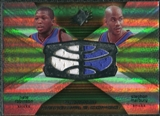 2008/09 Upper Deck SPx Winning Materials Combos #WMCMR Nate Robinson Stephon Marbury