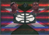 2008/09 Upper Deck SPx Winning Materials Combos #WMCRR Quentin Richardson Zach Randolph