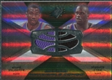 2008/09 Upper Deck SPx Winning Materials Combos #WMCSO Amare Stoudemire Shaquille O'Neal