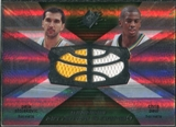 2008/09 Upper Deck SPx Winning Materials Combos #WMCSP Peja Stojakovic Chris Paul