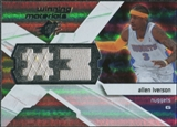 2008/09 Upper Deck SPx Winning Materials #WMJAI Allen Iverson