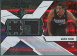 2008/09 Upper Deck SPx Winning Materials #WMJAM Andre Miller