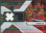 2008/09 Upper Deck SPx Winning Materials #WMJBR Brandon Roy