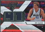 2008/09 Upper Deck SPx Winning Materials #WMJDN Dirk Nowitzki