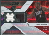 2008/09 Upper Deck SPx Winning Materials #WMJIG Andre Iguodala