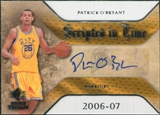 2007/08 Upper Deck SP Rookie Threads Scripted in Time #PO Patrick O'Bryant Autograph