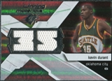2008/09 Upper Deck SPx Winning Materials #WMJKD Kevin Durant