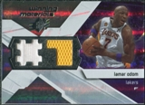 2008/09 Upper Deck SPx Winning Materials #WMJLO Lamar Odom
