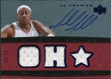 2007/08 Upper Deck Premier Remnants Triple Autographs #DM Donyell Marshall /50