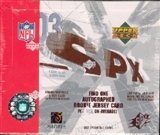 2003 Upper Deck SPx Football Hobby Box
