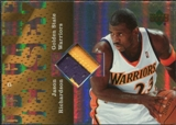 2006/07 Upper Deck UD Reserve Game Patches #JR Jason Richardson