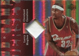 2006/07 Upper Deck UD Reserve Game Patches #LH Larry Hughes