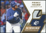 2009 Upper Deck SPx Winning Materials Patch #WMPF Prince Fielder 67/99