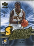 2007/08 Upper Deck Sweet Shot Stitches Patches #JO Jermaine O'Neal /35