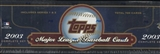 2003 Topps Baseball Retail Factory Set (Box) (Blue)