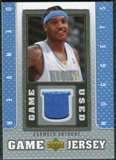 2007/08 Upper Deck UD Game Jersey #CA Carmelo Anthony