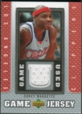 2007/08 Upper Deck UD Game Jersey #CM Corey Maggette