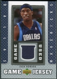 2007/08 Upper Deck UD Game Jersey #JH Josh Howard
