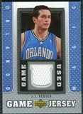 2007/08 Upper Deck UD Game Jersey #JR J.J. Redick