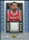 2007/08 Upper Deck UD Game Jersey #JU Juwan Howard