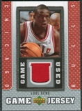 2007/08 Upper Deck UD Game Jersey #LD Luol Deng