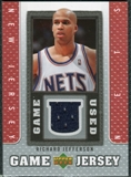 2007/08 Upper Deck UD Game Jersey #RJ Richard Jefferson