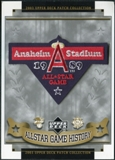 2003 Upper Deck UD Patch Collection All-Star Game Patches #60 Anaheim Angels 1989