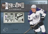2009/10 Upper Deck SPx Winning Materials Spectrum Patches #WMAF Alexander Frolov /50