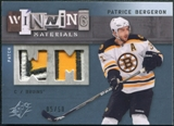 2009/10 Upper Deck SPx Winning Materials Spectrum Patches #WMPB Patrice Bergeron /50