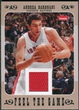 2007/08 Fleer Feel The Game #FGAB Andrea Bargnani