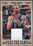 2007/08 Fleer Feel The Game #FGBO Carlos Boozer