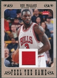 2007/08 Fleer Feel The Game #FGBW Ben Wallace