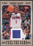 2007/08 Fleer Feel The Game #FGCB Chauncey Billups