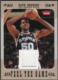 2007/08 Fleer Feel The Game #FGDR David Robinson