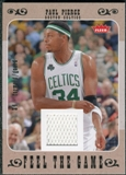 2007/08 Fleer Feel The Game #FGPP Paul Pierce