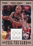 2007/08 Fleer Feel The Game #FGRO Dennis Rodman