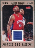 2007/08 Fleer Feel The Game #FGRW Rasheed Wallace