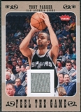 2007/08 Fleer Feel The Game #FGTP Tony Parker