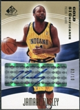 2003/04 Upper Deck SP Game Used SIGnificance Gold #JT Jamaal Tinsley Autograph /10